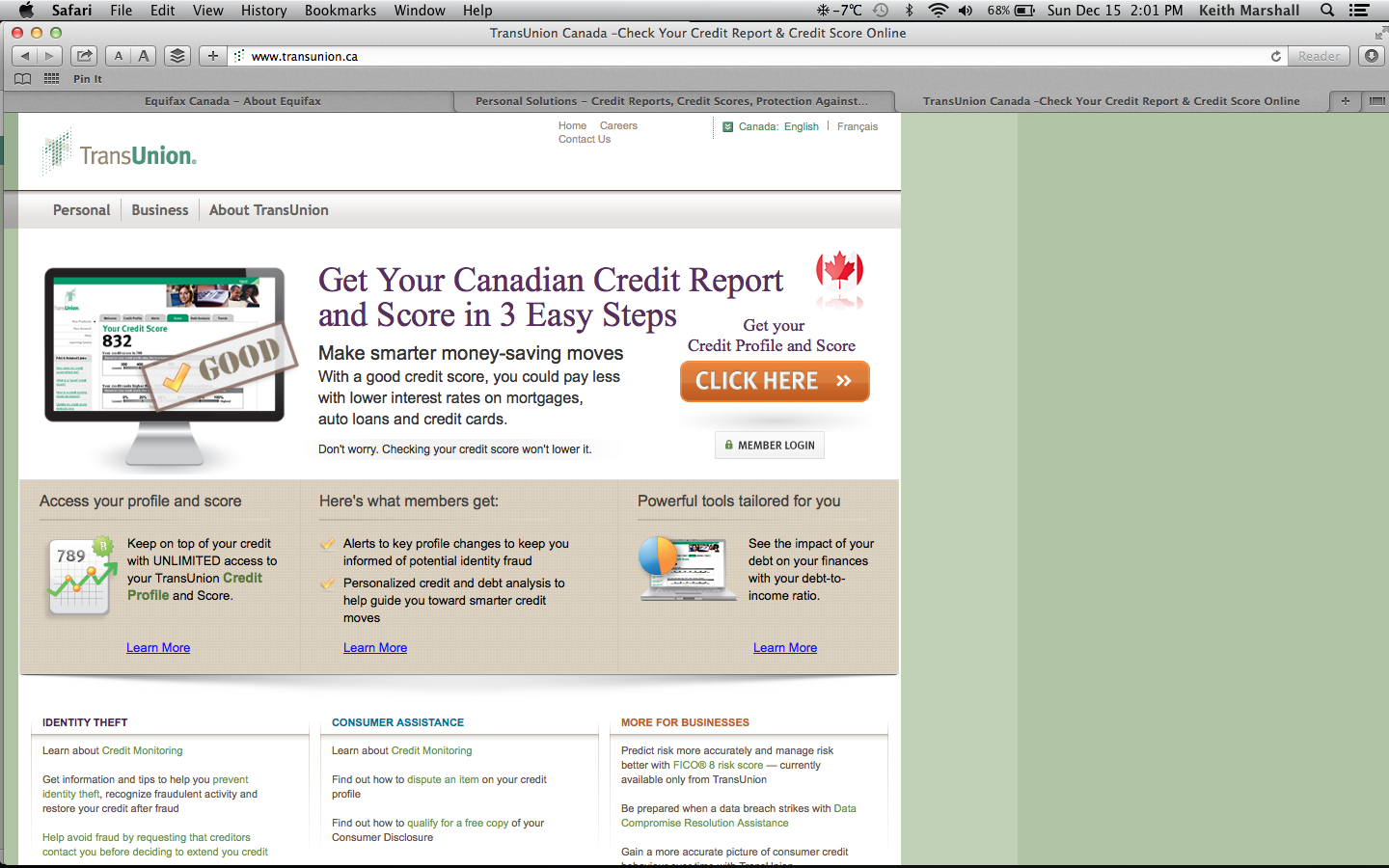 how to get your yearly free credit report