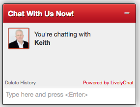 before selling, chat with Keith