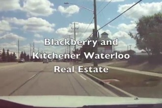 How will Blackberry's layoff of 4,500 affect Kitchener Waterloo real estate market?