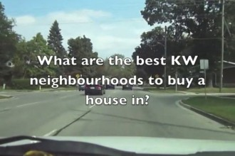 What are the great KW neighbourhoods to buy a house in?