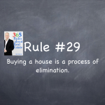Rule #29: Buying a house is a process of elimination
