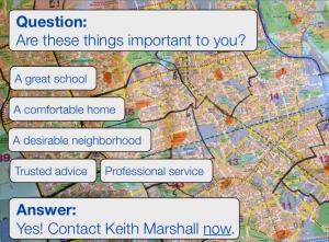 Neighbourhoods, school, homes