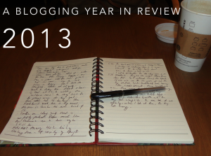 Blogging in 2013